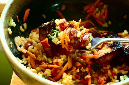 Kung Pao Tofu Rice Bowl