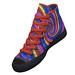 Rainbow Swirl Pattern Ankle Boots