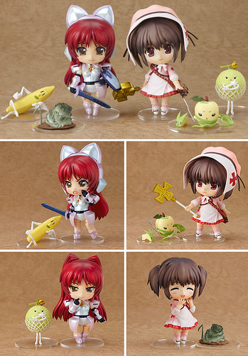 Nendoroid Kosaka Tamaki and Yuzuhara Tomomi