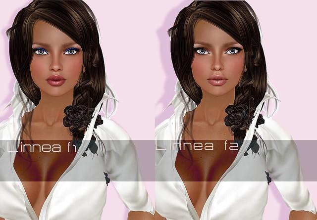 Linnea shape two face options