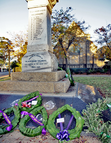 ANZAC Day Memorial and Wreaths
