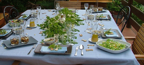 Easter Tablescape 2011