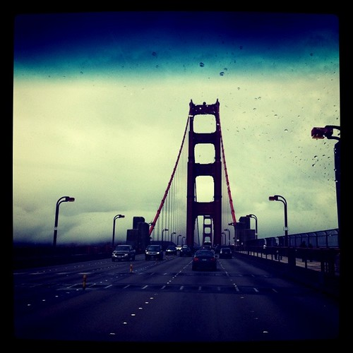 1st time over the bridge