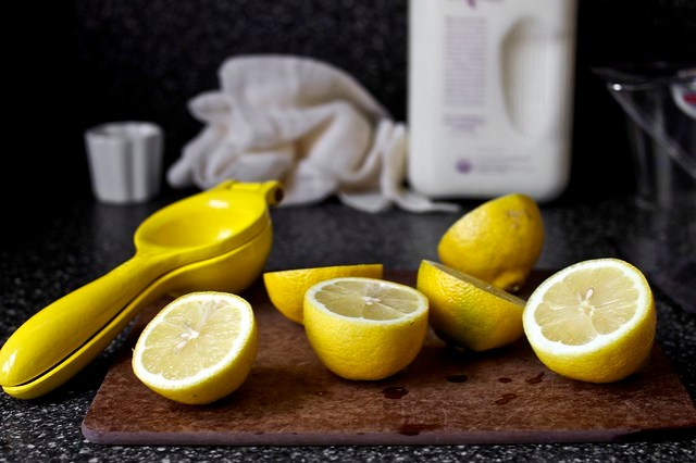 lemon juice for acidity