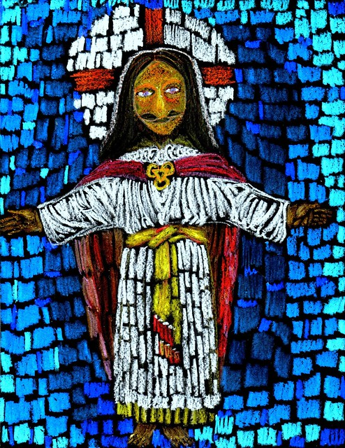 Stained Glass Savior
