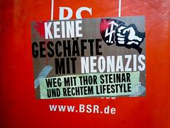 """Jüdische Boykott-Hetze der lesbischen und verhaltensgestörten Christin Löcher: """"Kauft nicht beim NAZI ein!!!"""""""