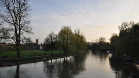 Last walk through Cambridge