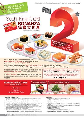 sushi king bonanza rm2