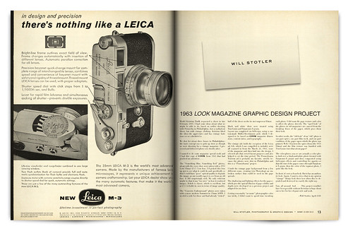 Design Project: LOOK Magazine Spread - pgs. 12 & 13