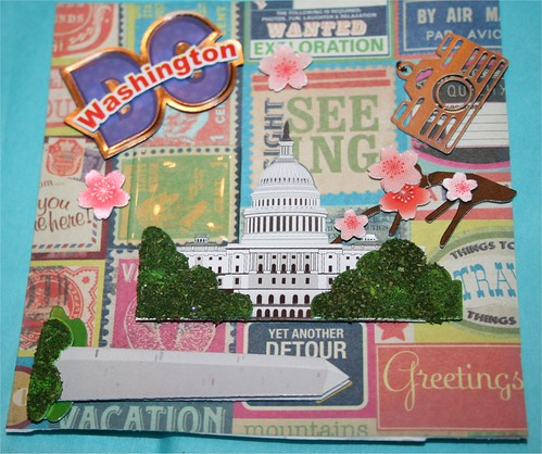 Vacation in DC Collage Card