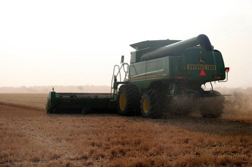 Getting the chaff end of the combine