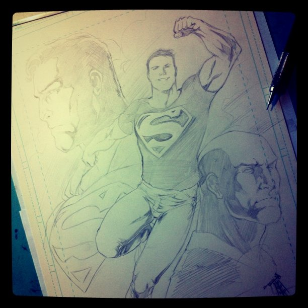 Conner Kent art, to @emerson_rs - Pencils #Superman #superboy #DC #comics #lexluthor #smallville