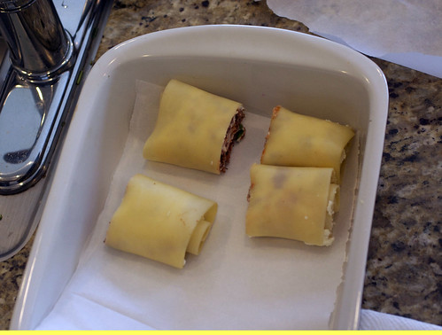 lasagna rolled up