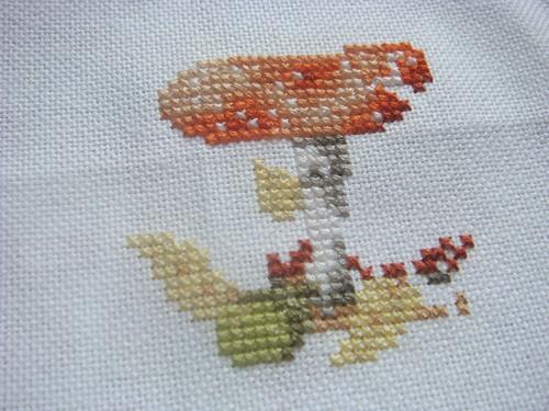 x-stitch: Fall