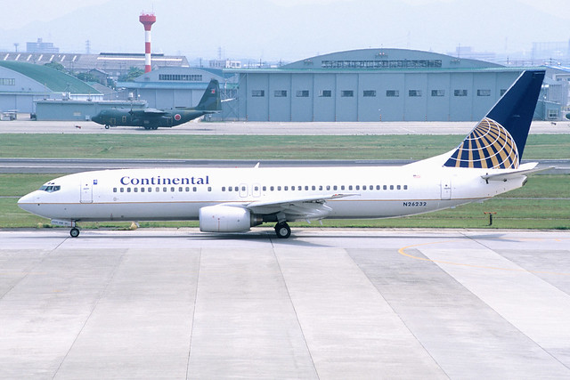Continental Airlines Flight 546 was grounded after an unruly passenger tried to open the plane door mid-flight. Photo by Contri