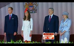 2011 Canada Day - pix 07 - Will & Kate, Stephen & Laureen