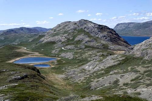 Greenland landscape, outside Kangerlussuaq