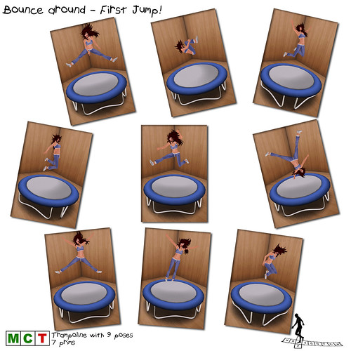 Bounce around - First Jump