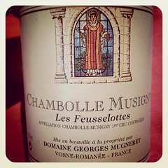 Chambolle Musigny Les Feusselottes 1997, Domaine Georges Mugneret