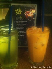 Drinks @ Yok Yor, Haymarket