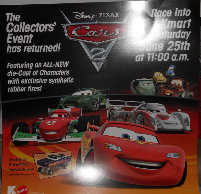 disney cars 2 kmart collectors event june 25 2011 extras (2)