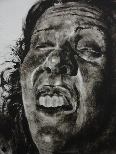 Self-Portrait No. 13, In Progress