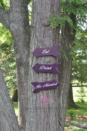 Eat, Drink, Be Married Signs
