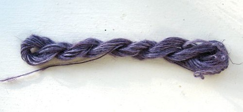 Tussah Silk Sample