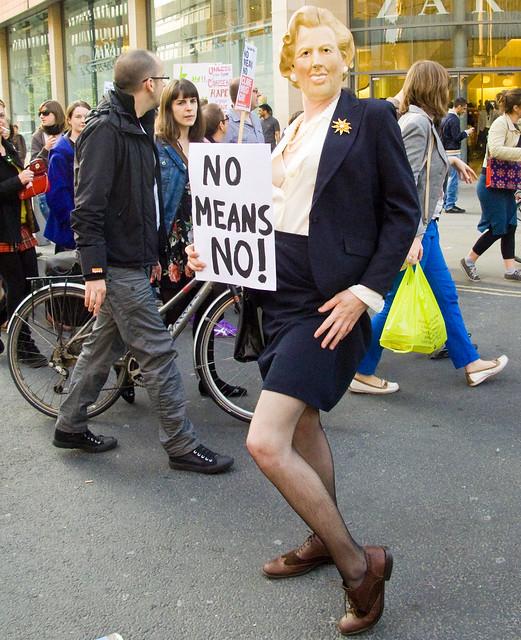Manchester Slut Walk 2011