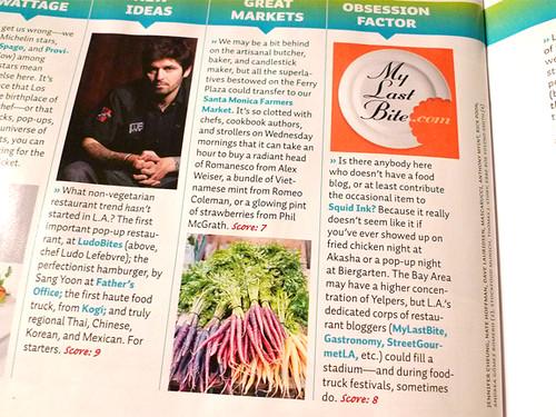MyLastBite in Sunset Magazine