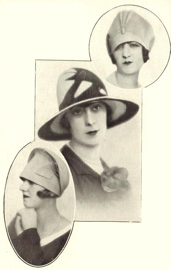 Sombreros de 1927