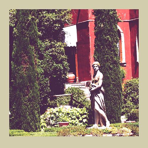 Statue in the Giusti Gardens