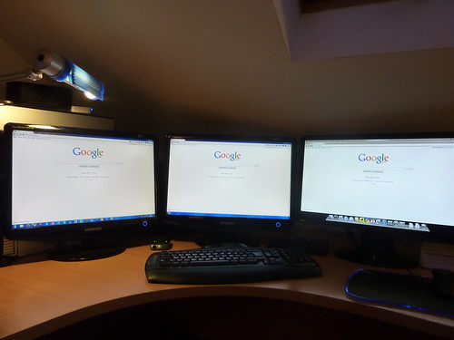 triple monitors