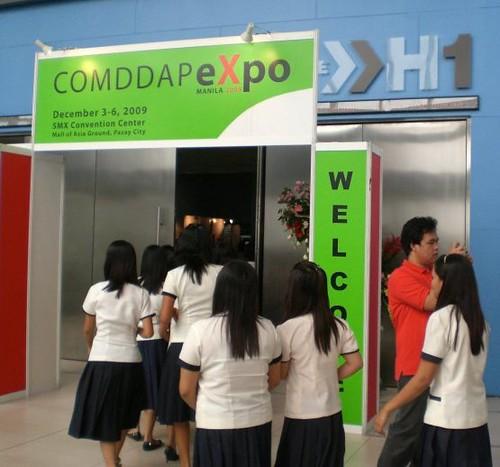 COMDDAP Expo Manila 2010 at SMX