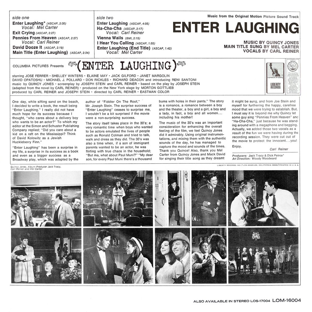 Quincy Jones - Enter Laughing