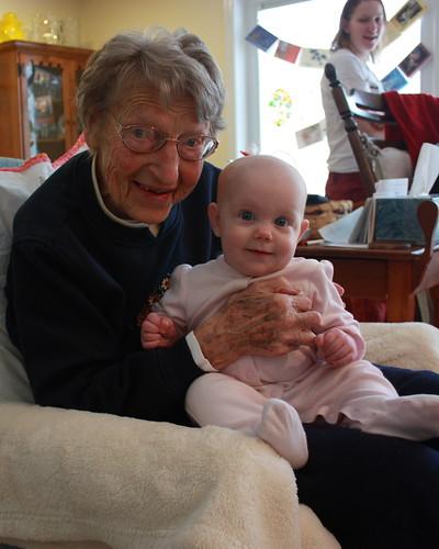 Lily and Grandmom