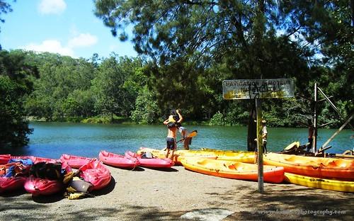 Kayaking in Dumbea