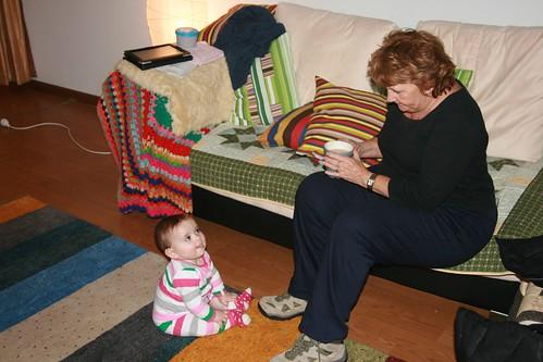 Greeting Nannie