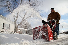 Snow blowin'