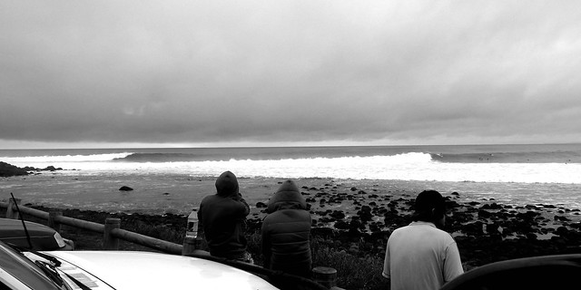 Watching the waves go by......