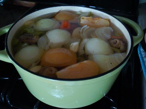 simmered veggies