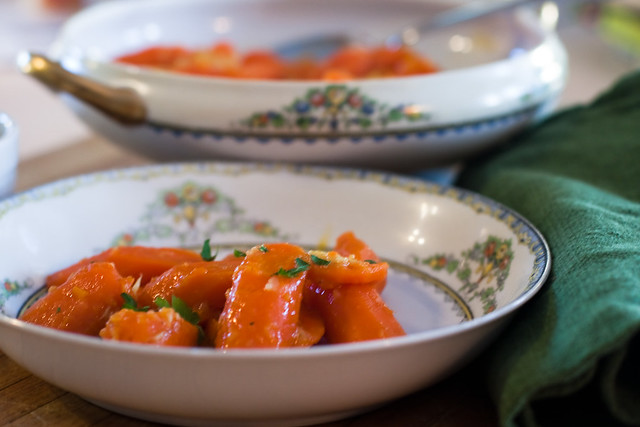 Spiced Butter-Glazed Carrots