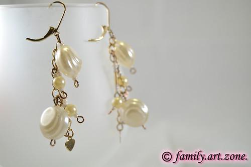 unique handmade beads earrings