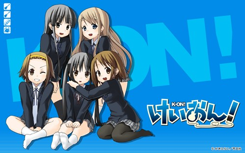 k-ON girls