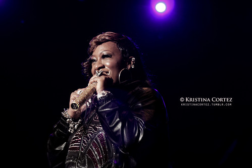 Missy Elliott at 2010 Singapore GP