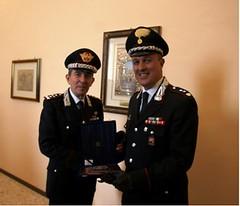 Il Comandante generale dell'Arma, Gen. Leonardo Gallitelli, in visita a Ragusa