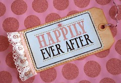 Giant 'Happily Ever After' Tag