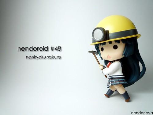 Nendoroid Nankyoku Sakura from Penguin Musume Heart