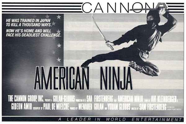 Sho Kosugi in American Ninja