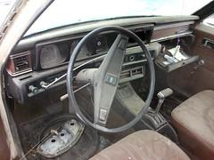 1973 Datsun 610 station wagon interior